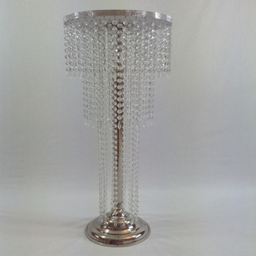 Three Tier Crystal Stand